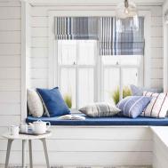 Beach Style Interiors Charis White