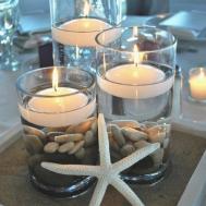Beach Table Decorations Wedding Best