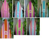 Beach Themed Wall Art Surfboard Best House Design