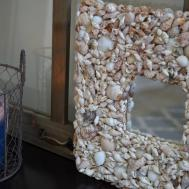 Beachwood Place Diy Shell Mirror