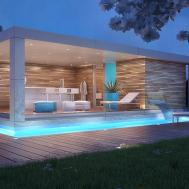 Beautiful Adabdcbffcadf Modern Pool House 6550