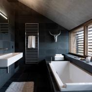 Beautiful Bathroom Attic Design Ideas