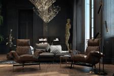 Beautiful Black Interior Showcased Historic Paris