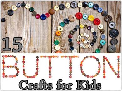 Beautiful Easy Button Crafts Projects Kids
