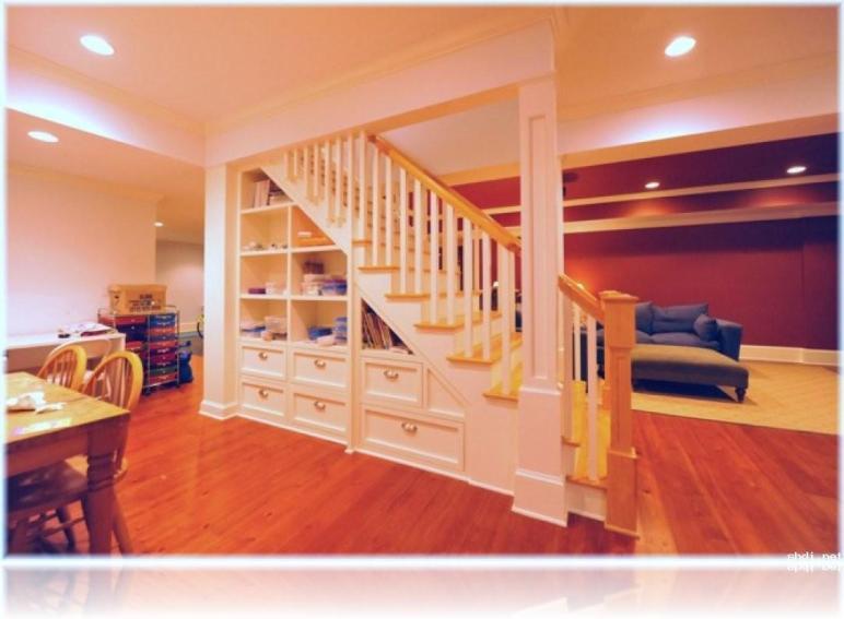 Beautiful Halloween Design Under Basement Stairs Storage