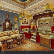 Beautiful Moroccan Living Room Furniture Ideas
