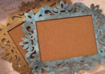 Beauty Etcetera Diy Vintage Frame Bulletin Board