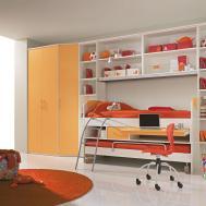 Bedroom Modern Girl Room Decoration Built One