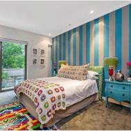 Bedroom Teen Bed Room Black White Gold Kids