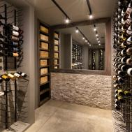 Before After Wine Cellar Transformation Design