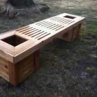 Bench Park Plans Diy Outdoor Seat Simple