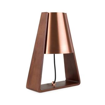 Bend Table Lamp Copper