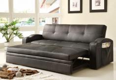 Best Homelegance 4803blk Sofa Bed