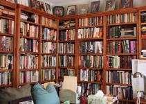 Best Ideas Home Library Shelving System