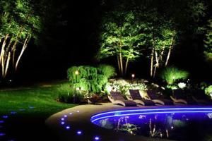 Best Patio Garden Landscape Lighting Ideas 2014