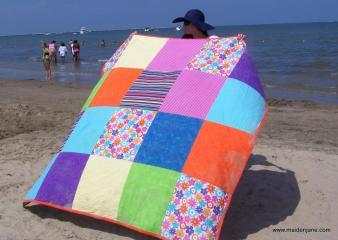 Big Bold Beach Blanket Allfreesewing