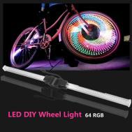 Bikight Rgb Led Diy Wheel Light Bar Rechargeable Car
