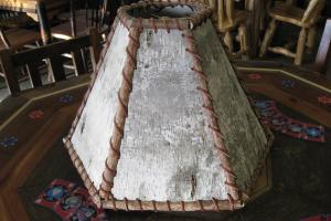 Birch Bark Lamp Shade Rustic Lamps Shades