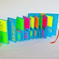 Birthday Pop Accordion Book Card Custom Order Original