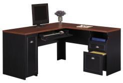 Black Desk Corner