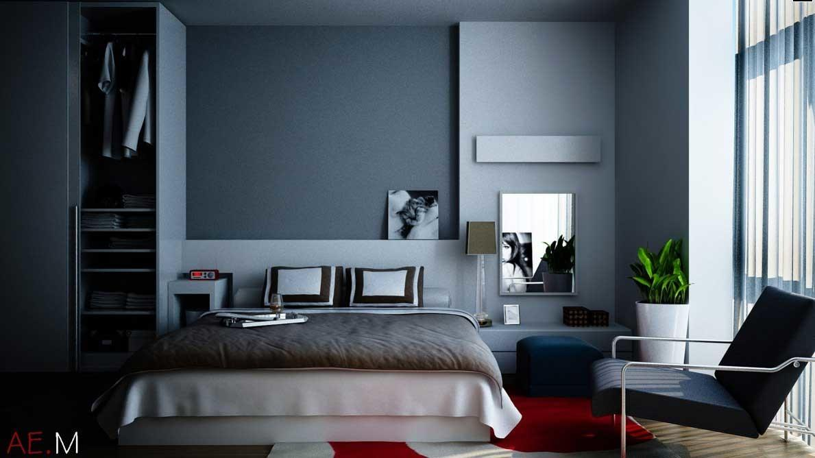 Blue Grey Bedroom Design Ideas Decoratorist 58835