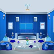 Blue Living Color Schemes Home Design Ideas Impressive