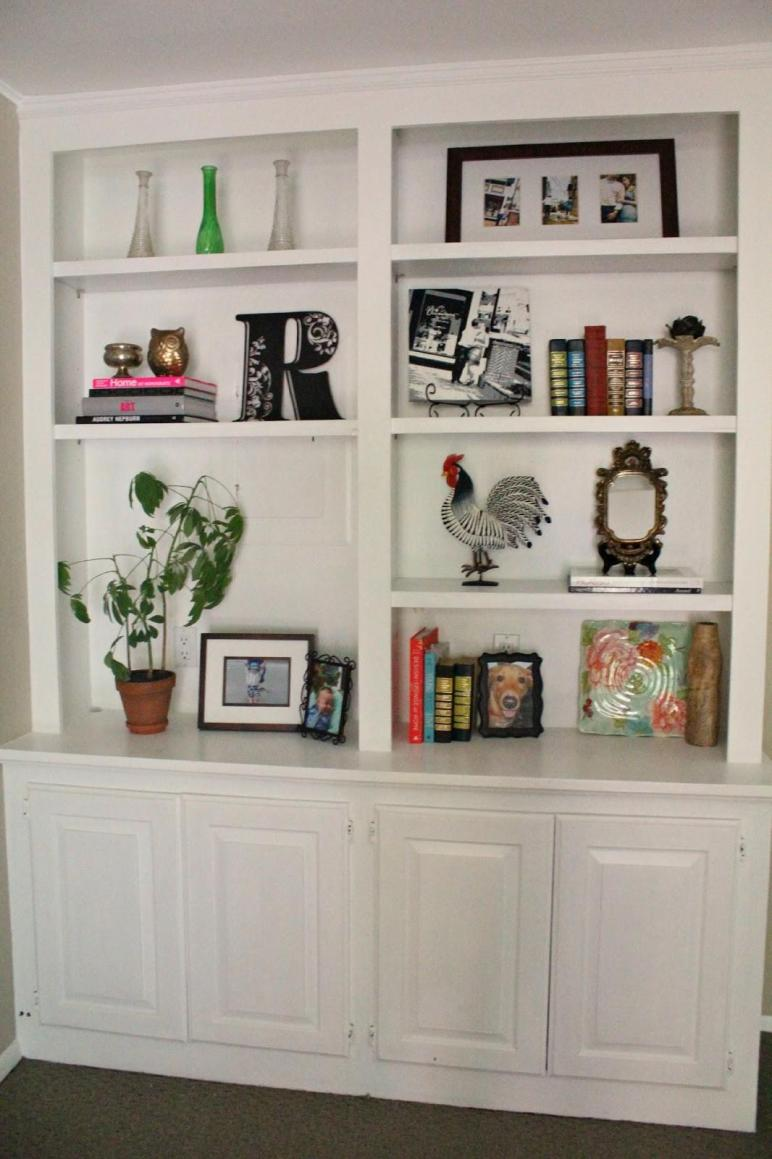 Bookshelf Decor Flat Decoration