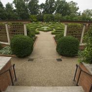 Boxwood Garden Mobot Courtesy Missouri