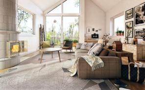Bright Homes Three Styles Pop Art Scandinavian