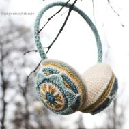 Brighten Your Outfit Crocheted Ear Muffs