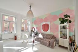 Bring Essence Summer Indoors Wall Murals Pastel