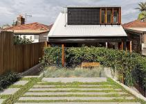 Budget Family Home Sydney Uses Reclaimed Bricks