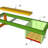 Build Planter Bench Howtospecialist