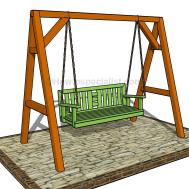 Build Porch Swing Howtospecialist