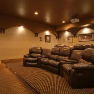 Build Stadium Seating Platform Cheap Home Theatre