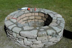 Build Stone Fire Pit Tos Diy