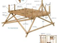 Building Easy Treehouse Home Design Decor