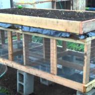 Building Raised Bed Rabbit Hutch Part Doovi