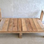 Built Pallet Wood Sofa Part Funky Junk Interiors
