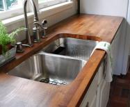 Butcher Block Countertops Kitchen Home Hinges