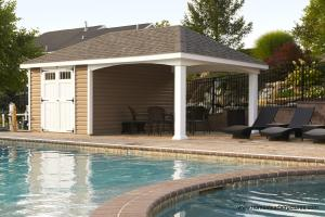 Cabana Style Pool Pavilions Clipgoo