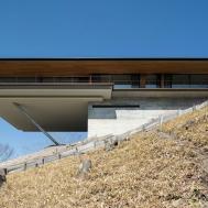 Cantilever Mountain House Nagano Japan