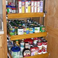 Captivating Pantry Door Rack Organizer