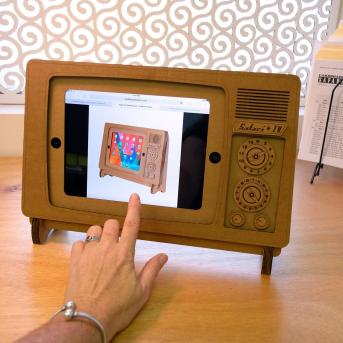 Cardboard Ipad Stand Recycled Uncommongoods