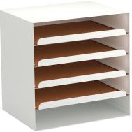 Cardboard Paper Organizer Shelves Home Design Ideas