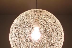 Carey Creates Diy String Chandelier