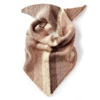 Caron Cakes Knit Triangle Shawl