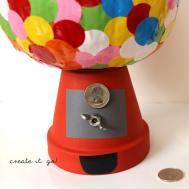 Carve Pumpkin Decorating Ideas Diy Bubble Gum Machine