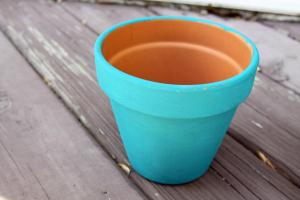 Casa Luna Creations Diy Chalk Painted Flower Pots