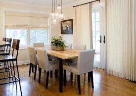 Casual Dining Room Lighting Modern Unique Brown Cover